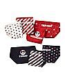 GAP Baby Assorted Disney Mickey Mouse And Minnie Mouse Days-Of-The-Week Bikini Briefs - Pack Of 7