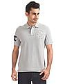 Aeropostale Embroidered Jersey Polo Shirt