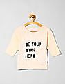 GAP Girls Beige GapKids X ED Graphic Raglan Tee